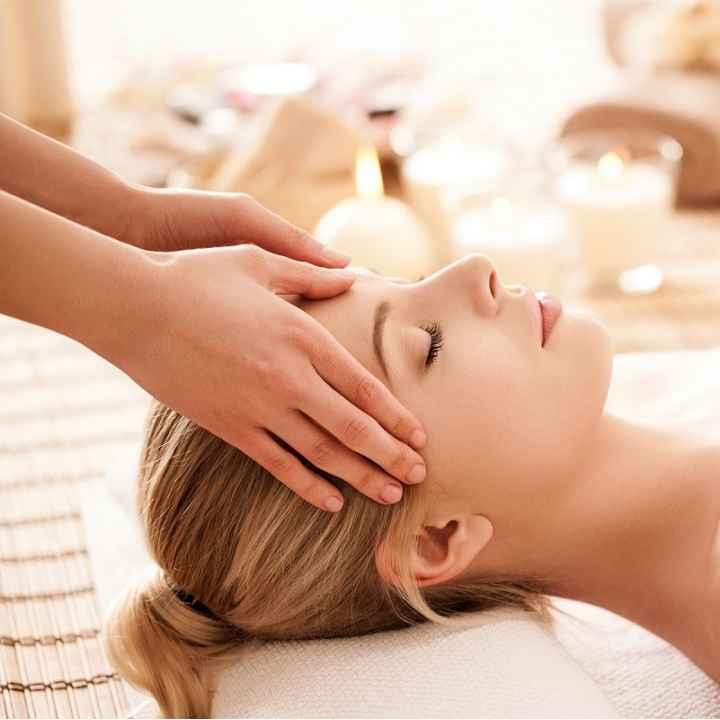 Подарочный сертификат на массаж головы и лица (действует 1 год)