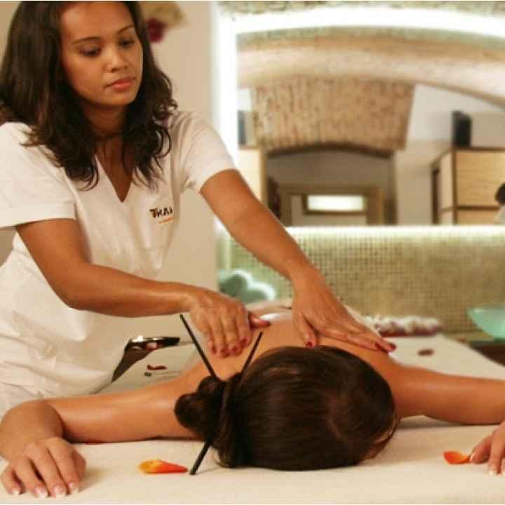 Тайский классический и расслабляющий массаж с аромамаслами