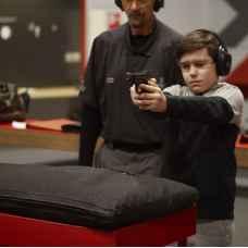 Детский курс стрельбы в тире