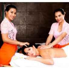 Тайский традиционный тандем-массаж (в 4 руки)