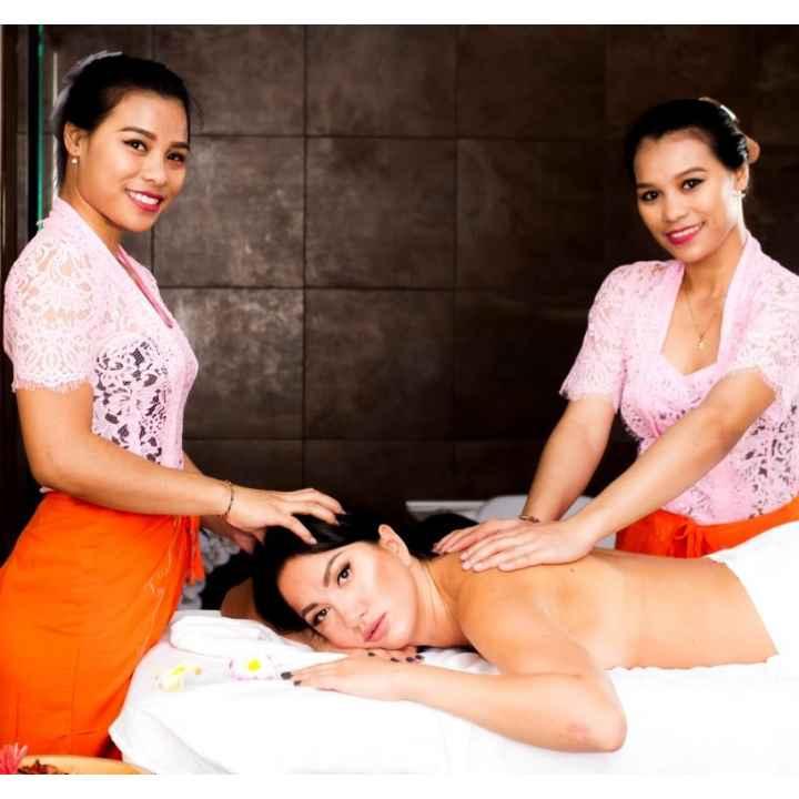 Тайский традиционный тандем-массаж в 4 руки