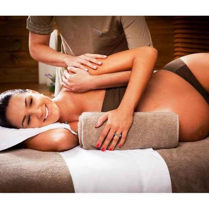 Подарочный сертификат на массаж беременной
