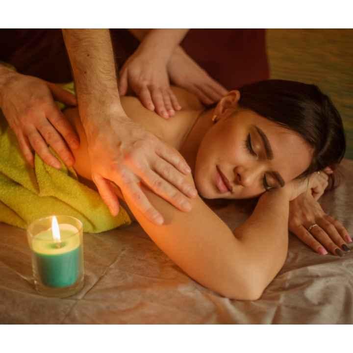 Подарочный сертификат на профессиональный массаж в 4 руки