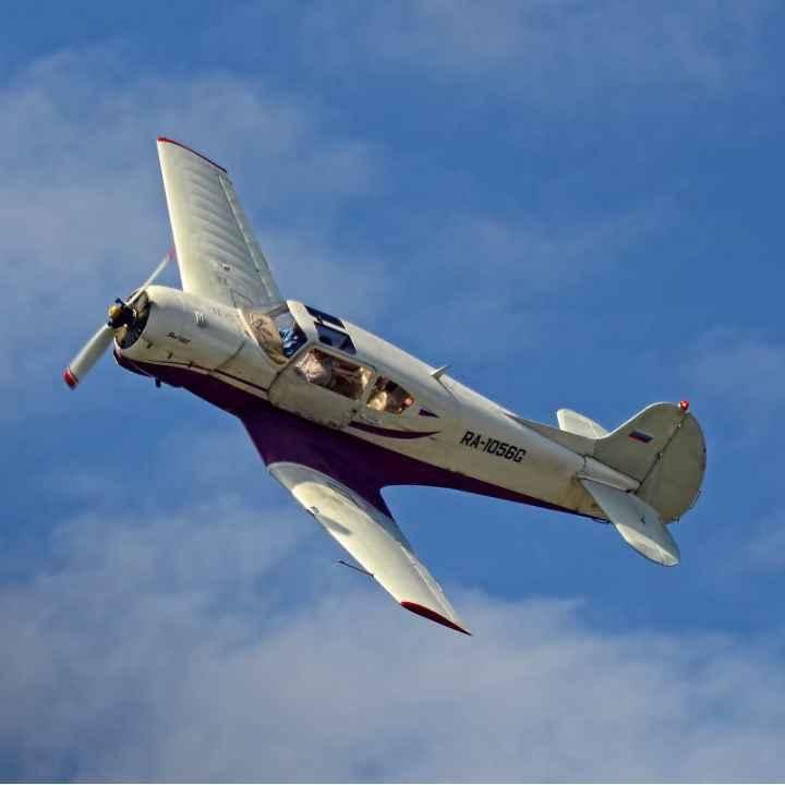 Пилотирование самолета ЯК-18Т