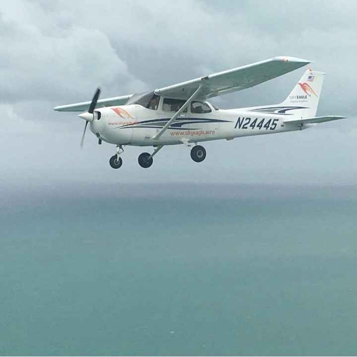 Обучение пилотированию лёгкого самолёта (один день)