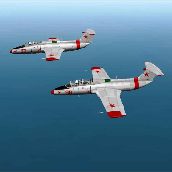 Имитация воздушного боя на истребителях Л-29 для двоих в Подмосковье