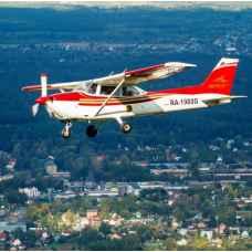 Урок пилотирования самолета Cessna 172