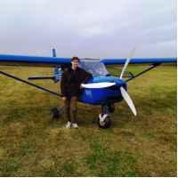 Полёт на самолёте Aeroprakt (запад МО)