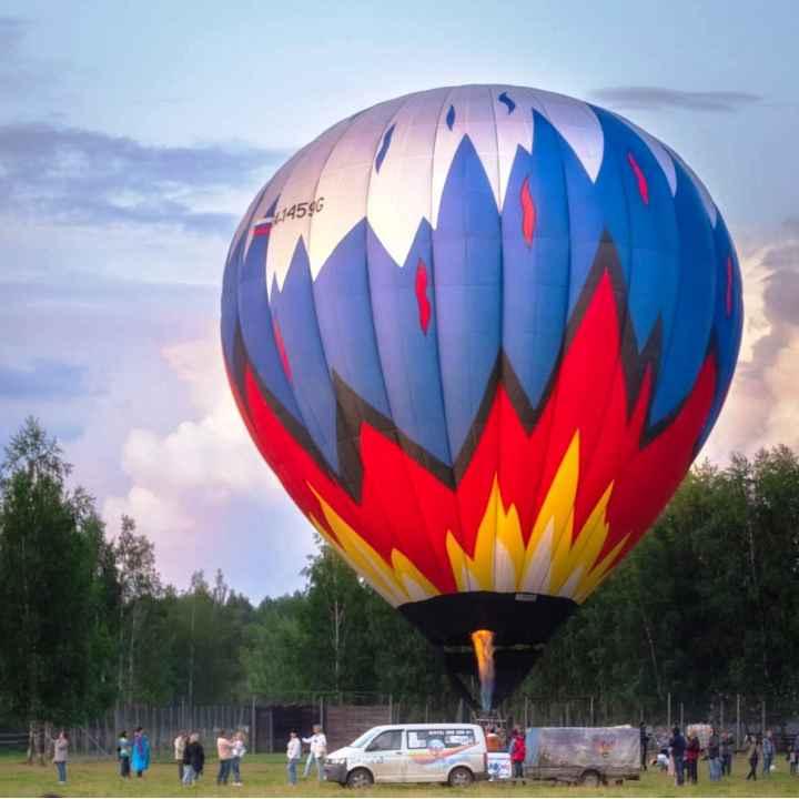 Подарочный сертификат на полёт на воздушном шаре для двоих в Истре