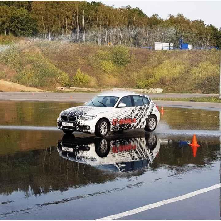 Обучение спортивному вождению BMW 118i с АКПП на автодроме