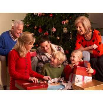 Подарочные сертификаты для семьи с выбором услуг