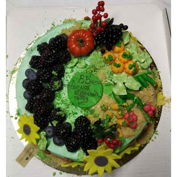 Торт на заказ в подарок юбиляру