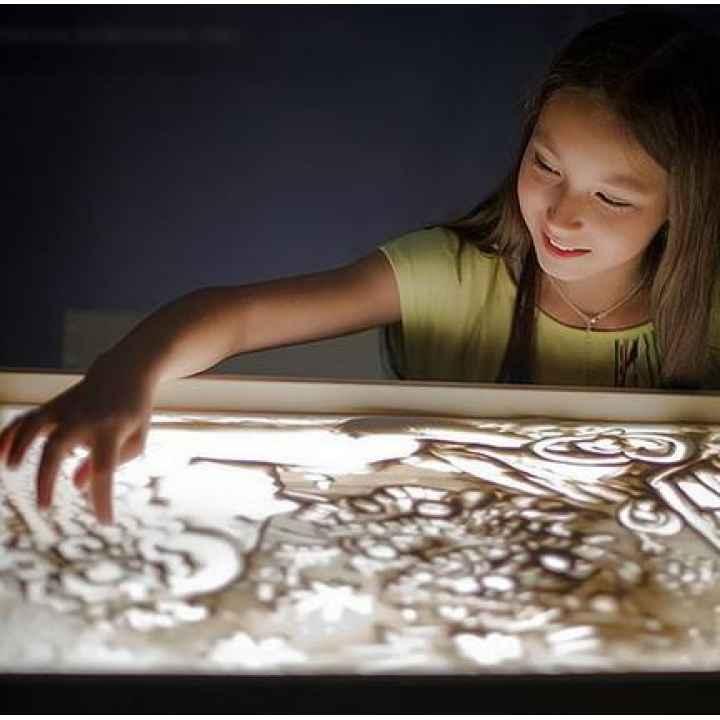 Подарочный сертификат на урок рисования песком на стекле