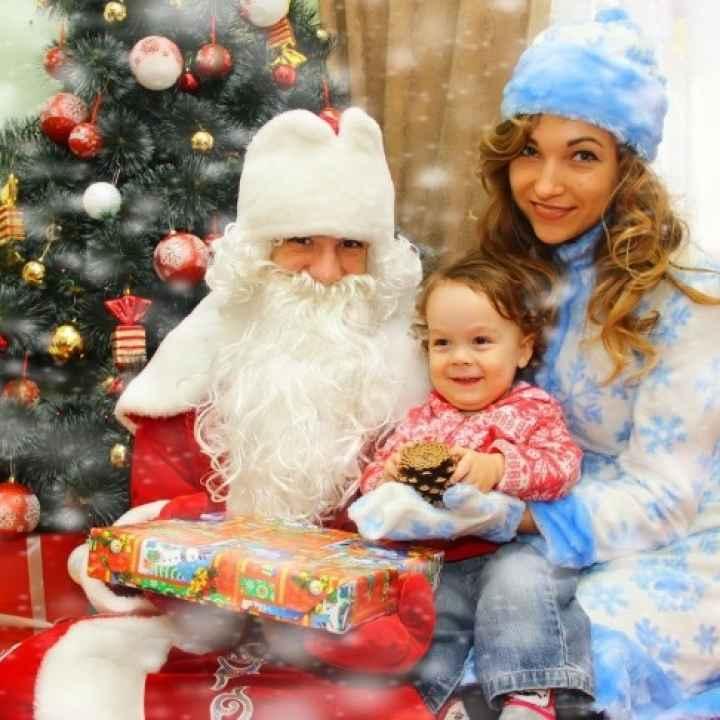 Фотосессия с Дедом Морозом и Снегурочкой