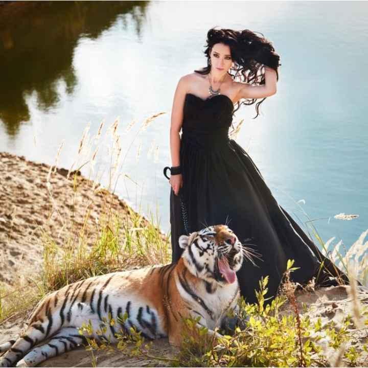 Фотосессия с тигром в Подмосковье. Подарочный сертификат