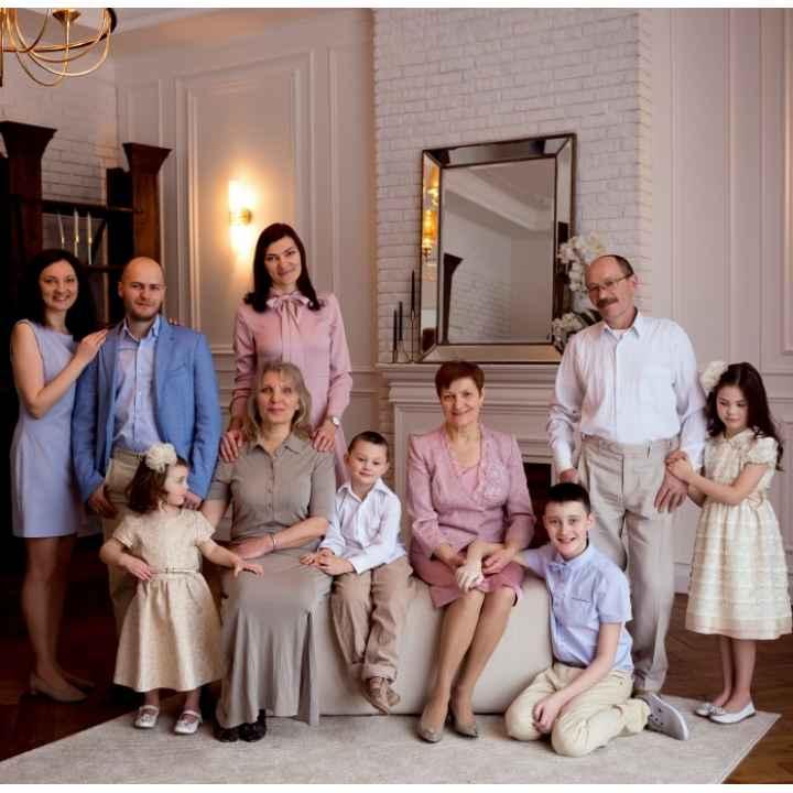 Подарочный сертификат «Фотосессия большой семьи» (действует 1 год)