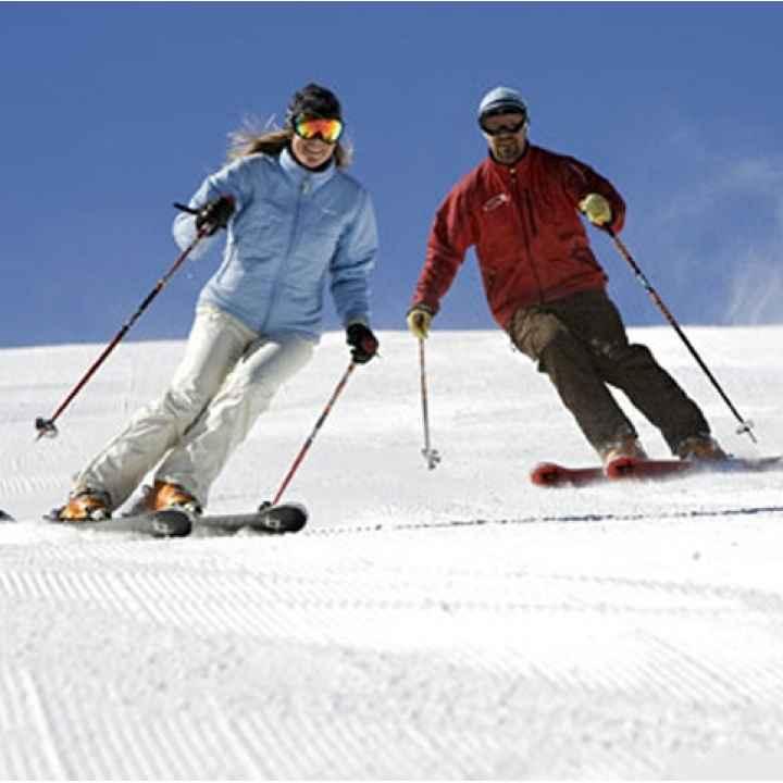 Подарочный сертификат на обучение катанию на горных лыжах
