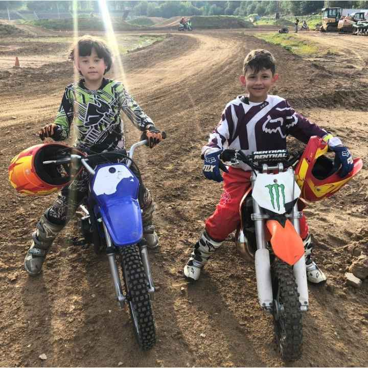 Обучение катанию на мотоцикле для детей