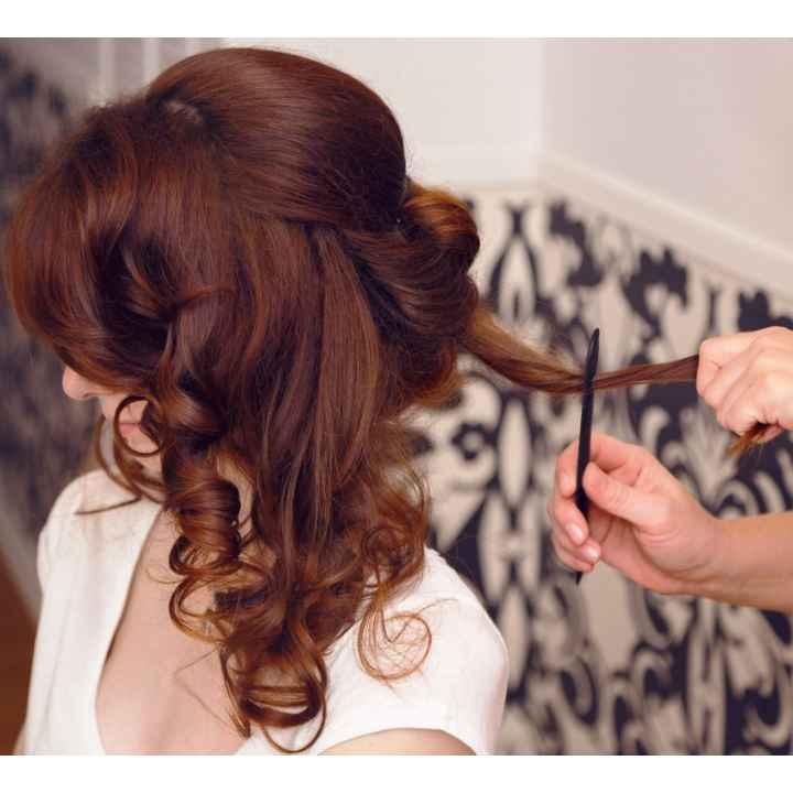 Он-лайн заказ посещения салона красоты для вечерней укладки волос