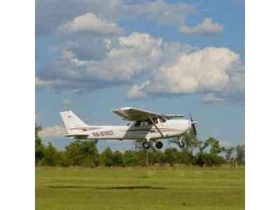 Управление самолетом Cessna
