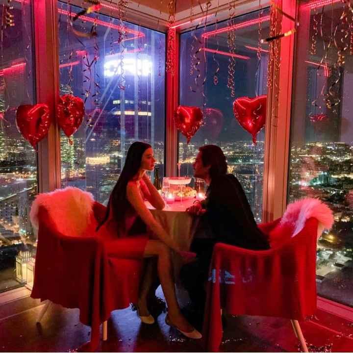 Красивое свидание в пентхаусе Москва-Сити 3 часа