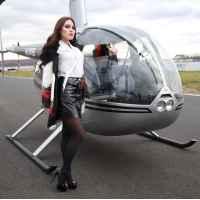 Фотосессия с вертолётом