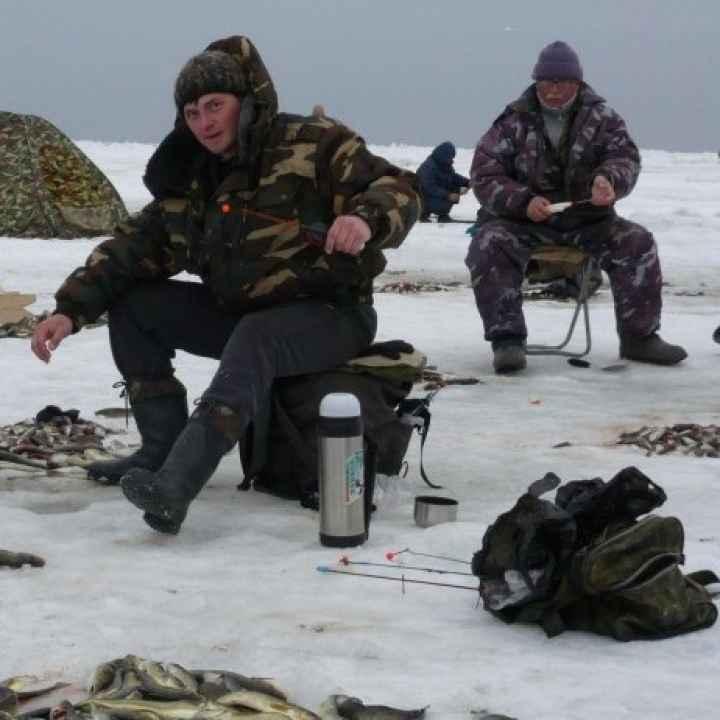 Подарочный сертификат на зимнюю подледную рыбалку (действует 1 год)