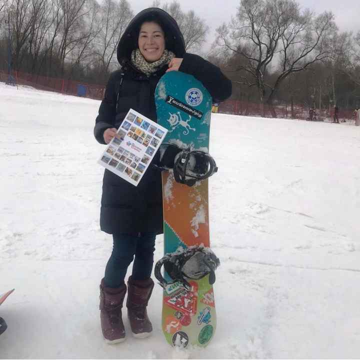 Подарочный сертификат на обучение катанию на сноуборде (действует 1 год)