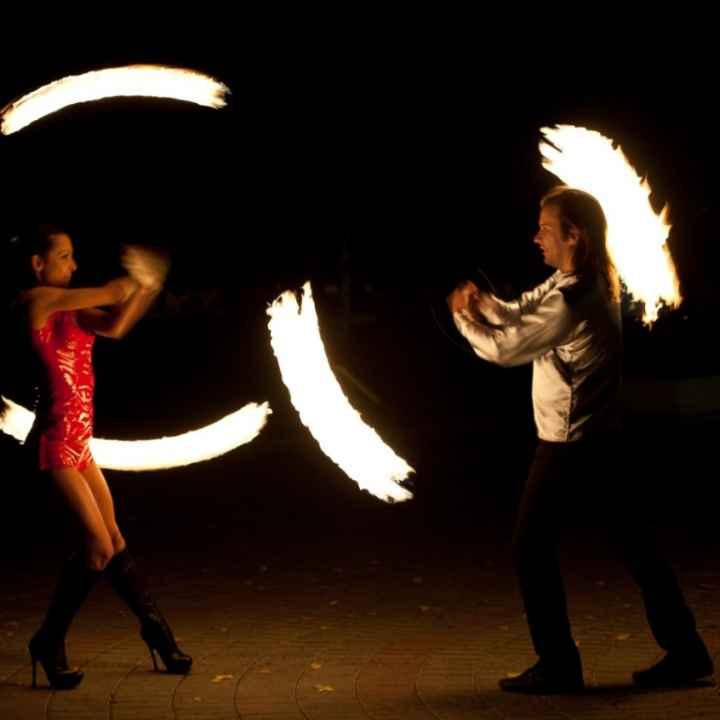 Заказать выступление артистов огненного шоу «Tequila Hot show»