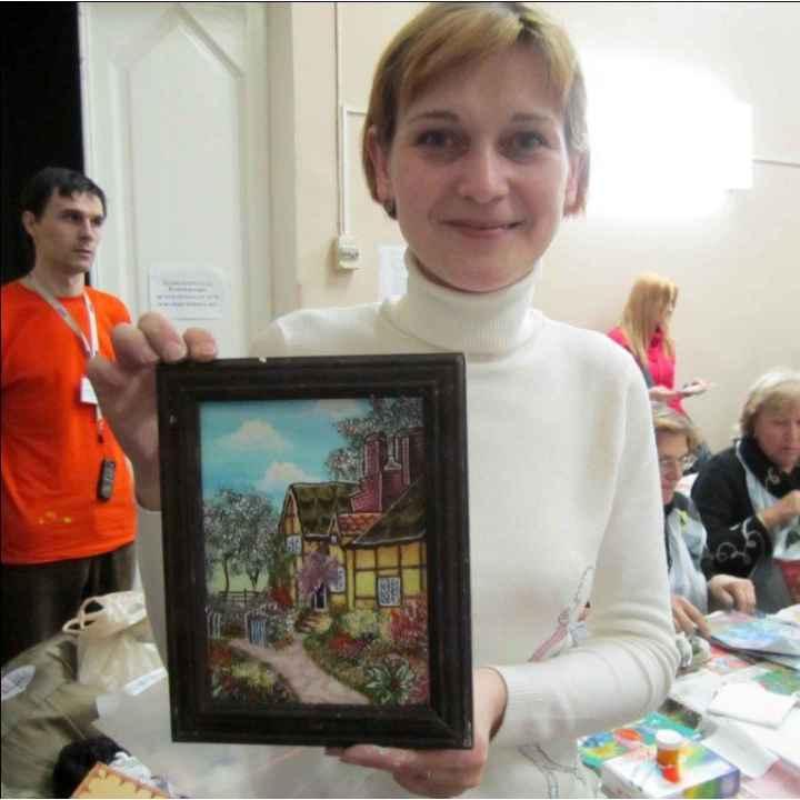 Подарочный сертификат на мастер класс по живописи