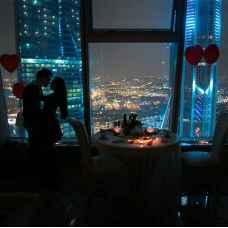 Ночь в апартаментах башни «Империя» Москва Сити