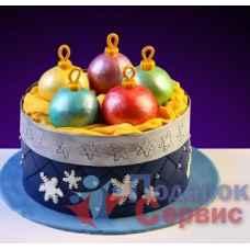 Торт на Новый Год 2 кг