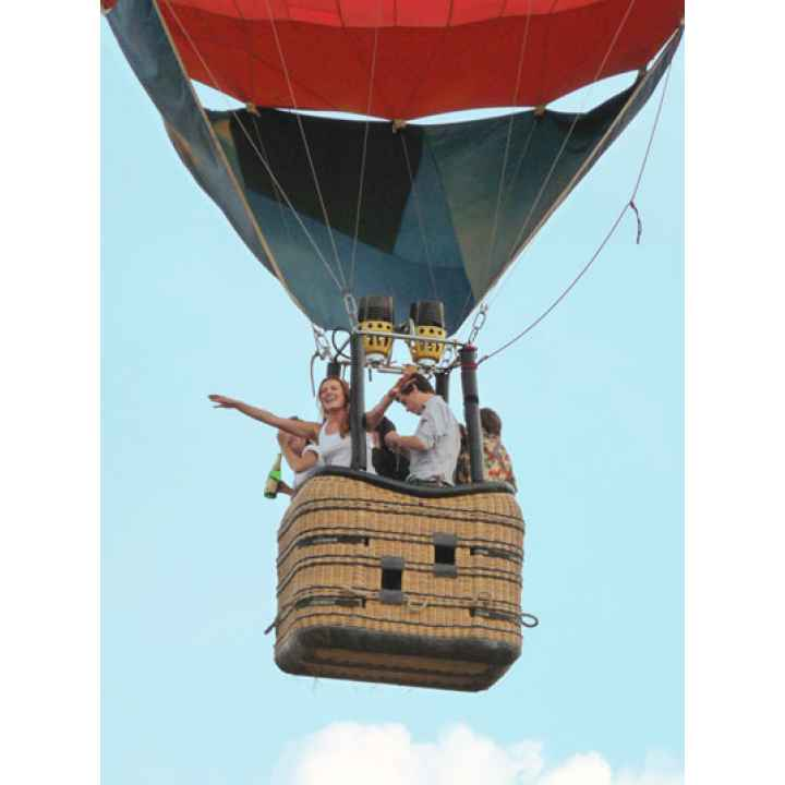 Он-лайн заказ полета на воздушном шаре компанией в подарок
