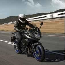 Урок езды на мотоцикле Yamaha XJ6