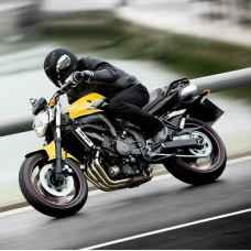 Урок езды на мотоцикле Yamaha 125