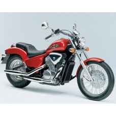 Урок езды на мотоцикле Honda Steed
