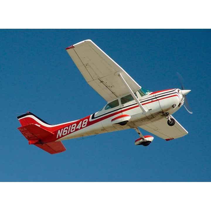 Купить подарочный сертификат на полет на самолете Cessna и самостоятельное пилотирование