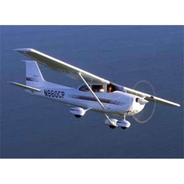 Управление самолетом Cessna  (пилот +2 пассажира)