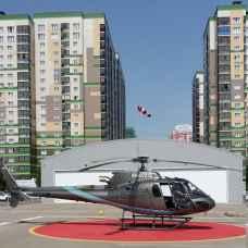 Полет на вертолете Eurocopter AS