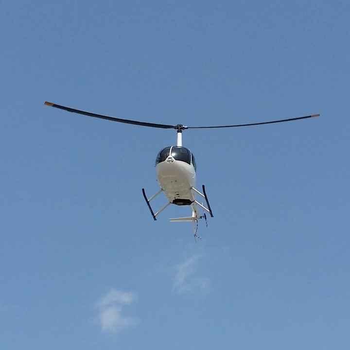 Урок пилотирования на американском вертолете Robinson 44
