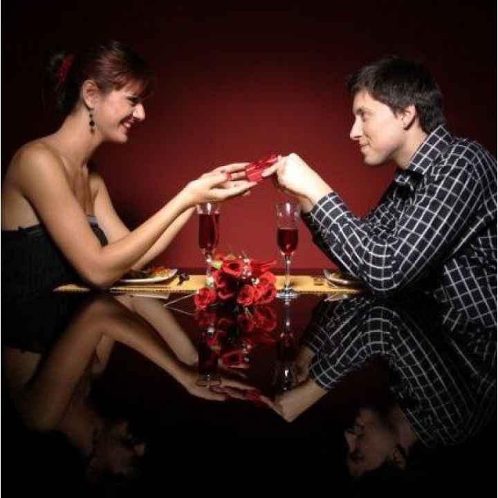 Он-лайн заказать романтический ужин в ресторане