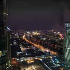 Необычное свидание на небоскребе Москва-Сити
