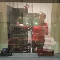 Запись альбома в студии