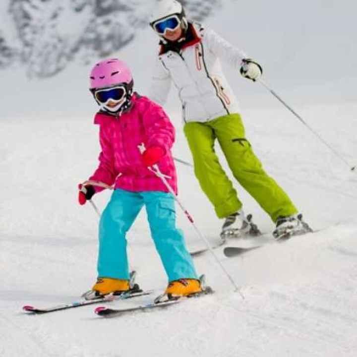 Подарочный сертификат на обучение катанию на горных лыжах в выходные (действует 1 год)
