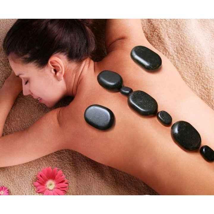 Купить подарочный сертификат на тайский Stone-массаж в 4 руки