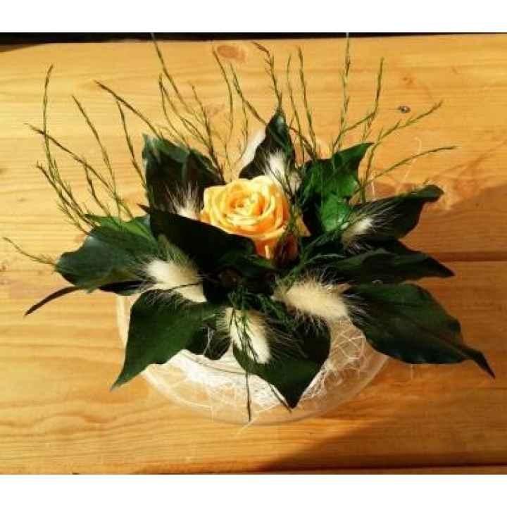 Стабилизированные цветы. Композиция № 25
