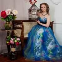VIP-фотосессия в декорациях студии для одной девушки