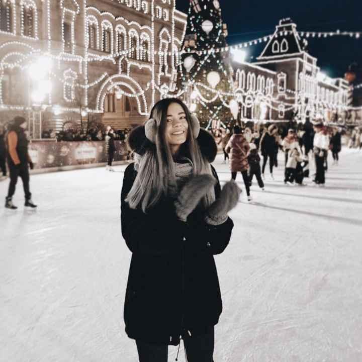 Фотосессия зимой в Москве