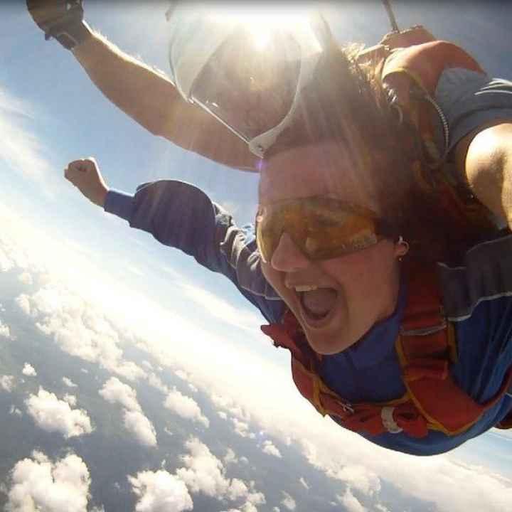 Купить подарочный сертификат на прыжок с парашютом в тандеме с инструктором