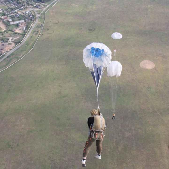 Купить подарочный сертификат на подготовку и первый прыжок с парашютом
